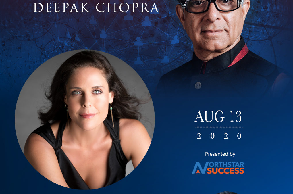 Speaking with Deepak Chopra